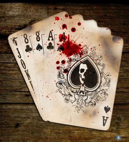 покер рука мертвеца