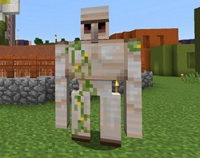 Гайд: Железный Голем в Minecraft PE