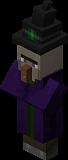 Как сделать ведьму в Minecraft