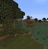 Как сделать болото в Minecraft